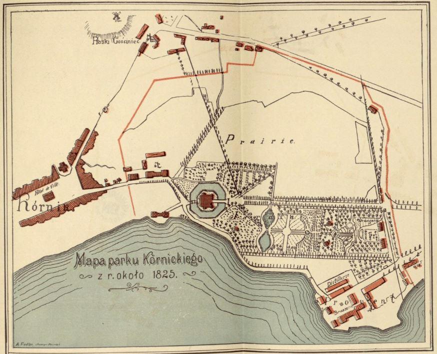 kornik-mapa