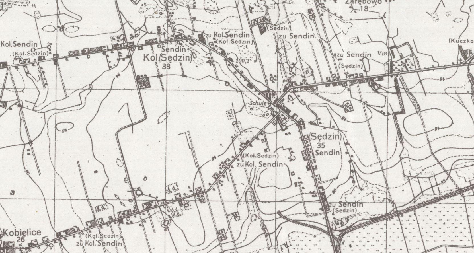 sedzin-mapa