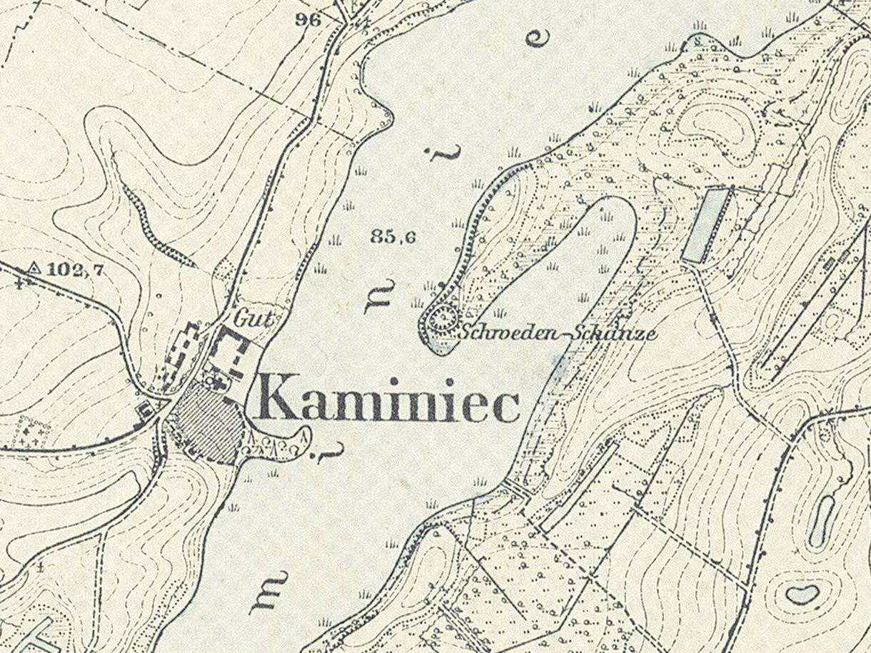 kamieniec-grodzisko-mapa1911
