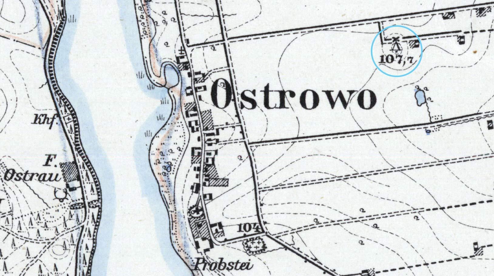 ostrowo-mapa
