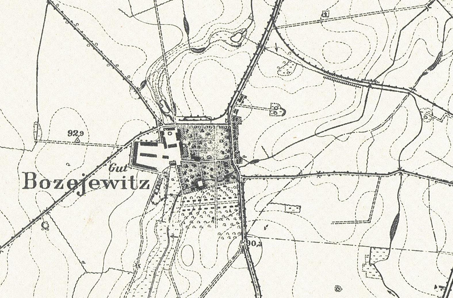 bozejewice-mapa_1911